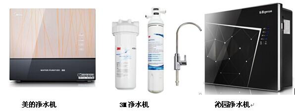 净水器哪个牌子好 三款家用净水器评测